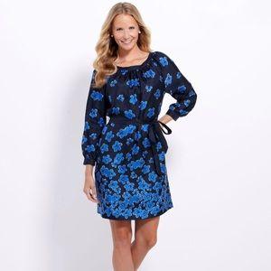 🆕{Vineyard Vines} Silk Atlantic Floral Dress